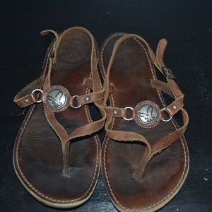 American Eagle sandals size 7
